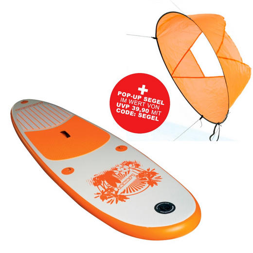STAND UP PADDLE I-SUP II - Orange, Trend (290/76/10cm)