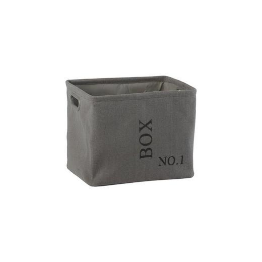 KORB - Grau, Basics, Textil (L) - AQUANOVA