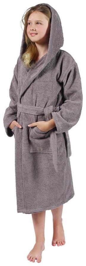 BADROCK FÖR BARN - grå, Basics, textil (134/140) - Esposa