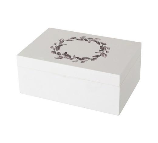 SCHMUCKBOX - Weiß, Trend, Holz (15/10/6cm)
