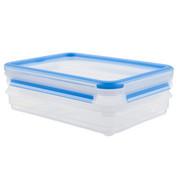FRISCHHALTEDOSE 0,6 L  - Blau/Transparent, Basics, Kunststoff (0,6l) - Emsa
