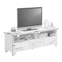 LOWBOARD in Weiß - Weiß, Design, Holzwerkstoff (146/50/45cm) - Carryhome