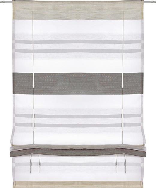 RAFFROLLO  halbtransparent   60/130 cm - Grau, Basics, Textil (60/130cm) - Esposa
