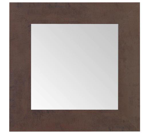 SPIEGEL 60/60/1,6 cm   - Braun, KONVENTIONELL, Glas/Holzwerkstoff (60/60/1,6cm) - Carryhome