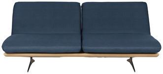 SCHLAFSOFA in Blau Holz, Textil - Blau/Schwarz, Design, Holz/Textil (204/92/90cm) - DIETER KNOLL