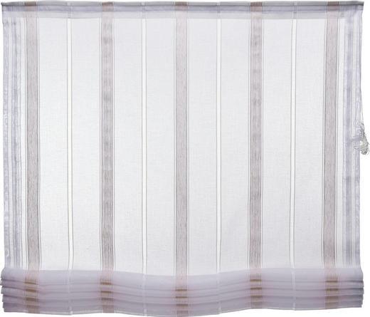 RAFFROLLO   100/170 cm - Naturfarben/Weiß, Textil (100/170cm) - ESPOSA