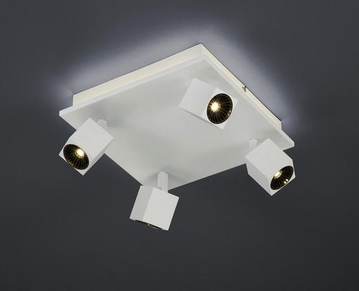 LED-DECKENLEUCHTE - Weiß, Basics, Metall (28/14/28cm)