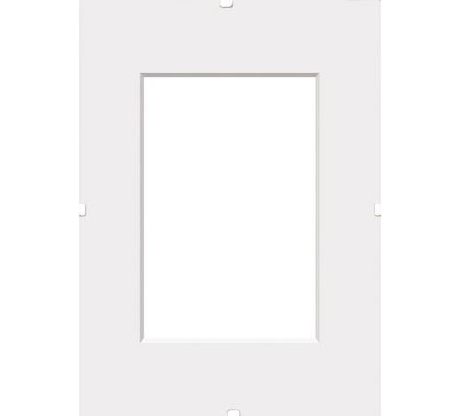 KLIPOVÝ RÁM, 60/40/1 cm, čiré - čiré, Basics, sklo (60/40/1cm) - Boxxx