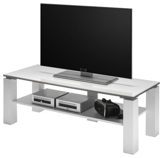 TV-ELEMENT Weiß - Weiß, MODERN, Holzwerkstoff (120/41/45cm) - Carryhome