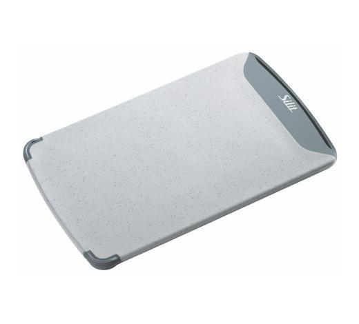 SCHNEIDEBRETT - Grau, Design, Kunststoff (16/25cm) - Silit