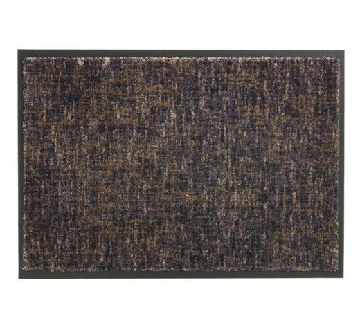 FUßMATTE 50/70 cm  - Taupe/Anthrazit, KONVENTIONELL, Textil (50/70cm) - Schöner Wohnen