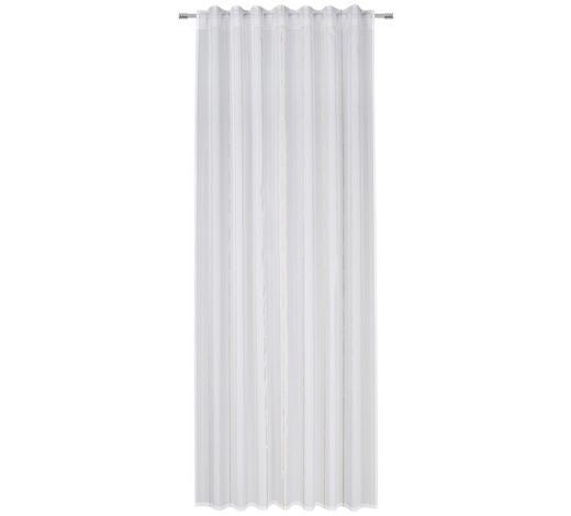 FERTIGSTORE transparent - Gelb/Grau, KONVENTIONELL, Textil (140/245cm) - Esposa