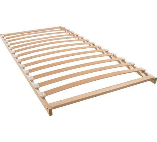 ROŠT, 90/200 cm - barvy břízy/béžová, Basics, dřevo/umělá hmota (90/200cm) - Sleeptex