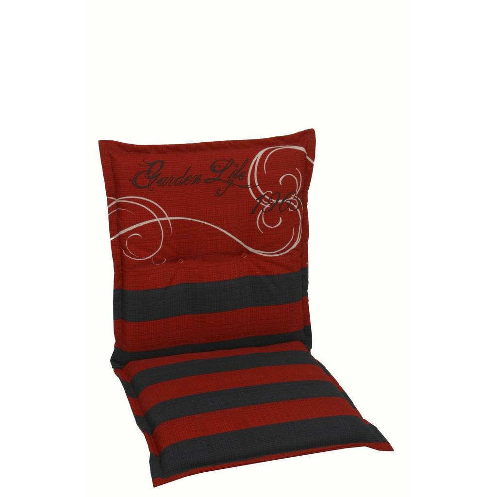 XXXL SESSELAUFLAGE Streifen, Rot | Garten > Gartenmöbel > Sitzauflagen | Textil | XXXL Shop
