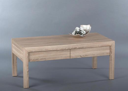 COUCHTISCH Eichefarben - Eichefarben, Design (120/50/60cm) - Carryhome