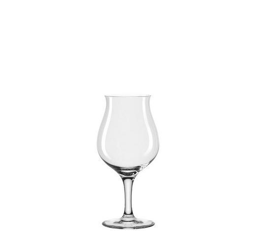 BIERTULPE  2-teilig   - Klar, KONVENTIONELL, Glas (18,1/18,7/9,2cm) - Leonardo