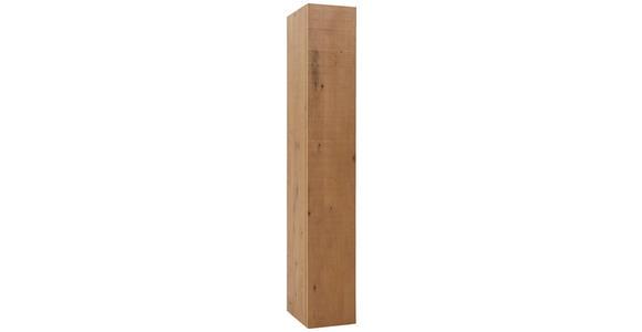 SCHRANK in Eichefarben  - Eichefarben, Natur, Holz (33/207/44cm) - Valnatura