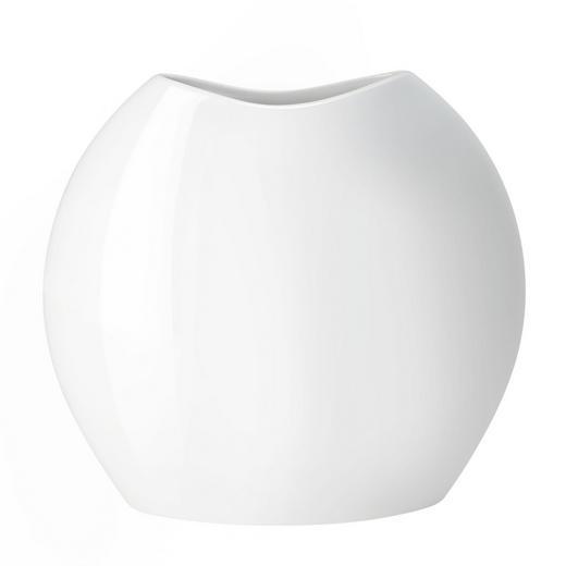 VASE - Weiß, Basics, Keramik (35/9/32cm) - ASA