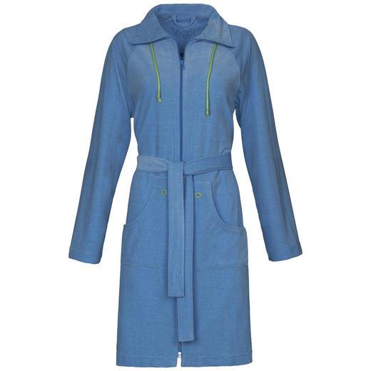 BADEMANTEL - Blau, Basics, Textil (XS//null) - Vossen