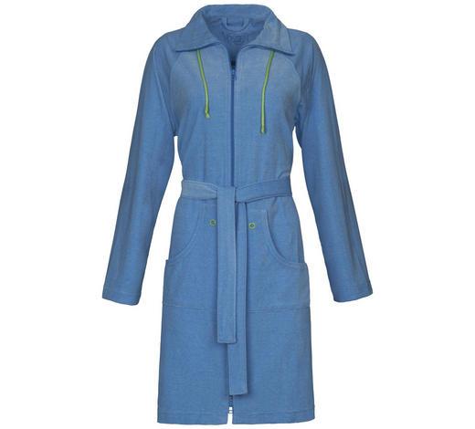 BADEMANTEL - Blau, Basics, Textil (Scm) - Vossen