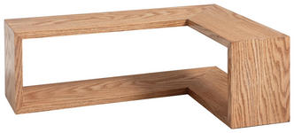 WANDREGAL - Eichefarben, Design, Holz/Holzwerkstoff (60/40/20/15cm) - Xora