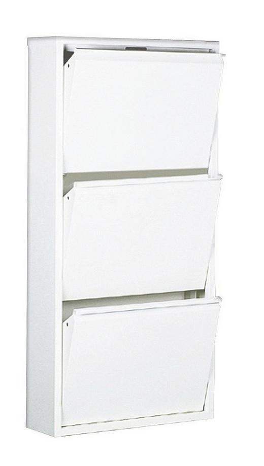 SCHUHKIPPER Weiß - Weiß, Design, Metall (50/103/15cm) - Carryhome