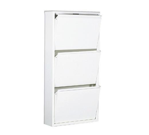 SCHUHKIPPER 50/103/13,3 cm - Weiß, Design, Metall (50/103/13,3cm) - Carryhome