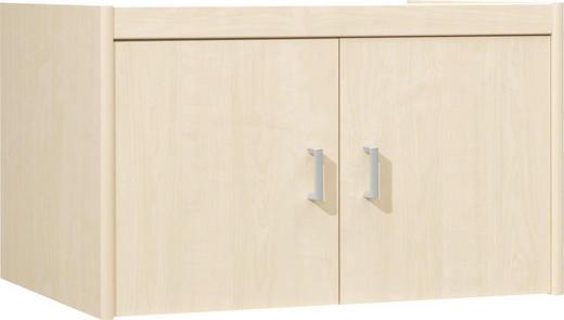 AUFSATZSCHRANK 72/43/54 cm Ahornfarben - Silberfarben/Ahornfarben, Design, Kunststoff (72/43/54cm) - CS SCHMAL