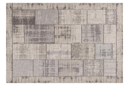 FLACHWEBETEPPICH  155/230 cm  Grau - Grau, Textil (155/230cm) - Novel