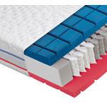 TASCHENFEDERKERNMATRATZE Höhe ca. 23 cm  - Weiß, Basics, Textil (90/200cm) - Dieter Knoll