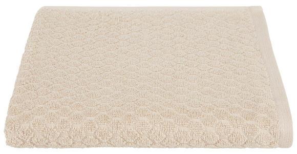 Handtuch Elena - Beige, MODERN, Textil (50/100cm) - Luca Bessoni