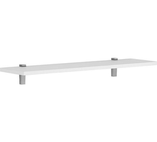 WANDBOARD in 100/2,2/25 cm Weiß - Weiß, Design, Holzwerkstoff/Metall (100/2,2/25cm)