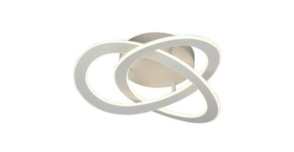 LED-DECKENLEUCHTE   - Grau, Design, Metall (50/13.5cm) - Ambiente