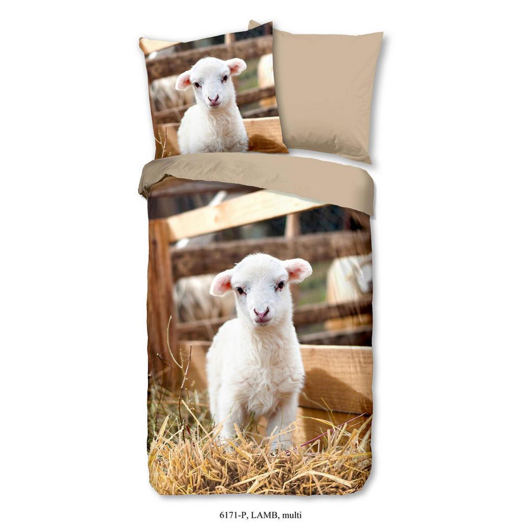 Kinderbettwäsche 'Lamm'