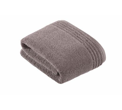 BADETUCH - Braun, Basics, Textil (100/150cm) - Vossen