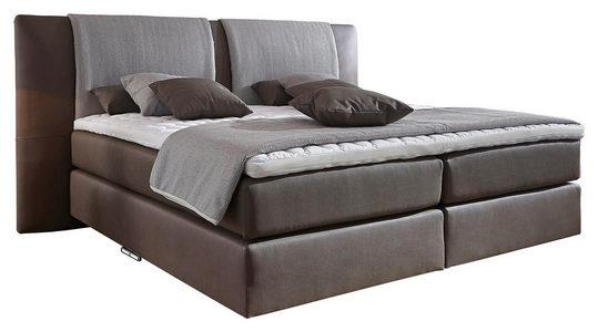 BOXSPRING KREVET - Braon, Dizajnerski, Tekstil (180/200cm) - Bentley