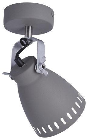 TAKLAMPA - grå, Basics, metall (19/12/25,5cm) - Boxxx
