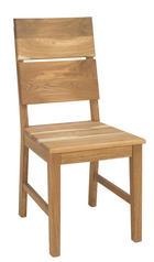 STUHL MASSIV GEÖLT Wildeiche massiv Eichefarben - Eichefarben, Design, Holz (38/95/49cm) - CARRYHOME