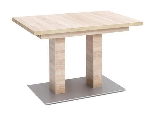 ESSTISCH Wildeiche rechteckig Eichefarben - Eichefarben, Design, Holzwerkstoff (110(150)/70/75cm) - MODERANO