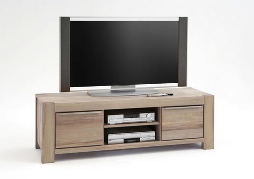 TV-ELEMENT Wildeiche massiv Eichefarben - Eichefarben, LIFESTYLE, Holz (155/53/50cm) - Carryhome