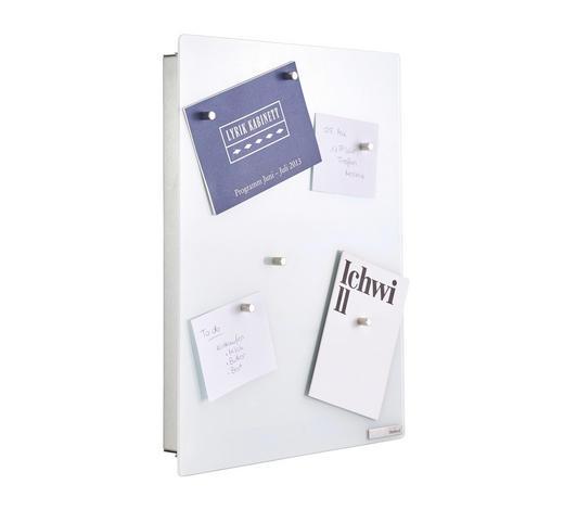 SCHLÜSSELKASTEN Weiß - Weiß, Basics, Glas/Metall (30/40/5cm) - Blomus