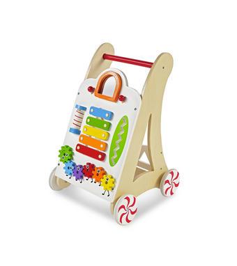 LAUFLERNWAGEN - Multicolor, Basics, Holz/Holzwerkstoff (35/33/52cm) - MY BABY LOU