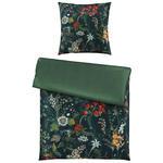 BETTWÄSCHE Makosatin Grün, Multicolor 135/200 cm  - Multicolor/Grün, LIFESTYLE, Textil (135/200cm) - Ambiente