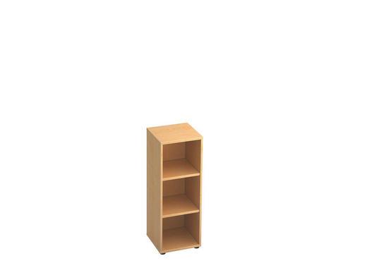 REGAL in Ahornfarben - Ahornfarben/Schwarz, KONVENTIONELL, Holzwerkstoff/Kunststoff (40/110/40cm)