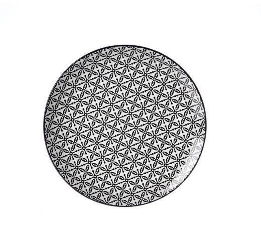 DESSERTTELLER 21,5 cm  - Schwarz/Weiß, Trend, Keramik (21,5cm) - Ritzenhoff Breker