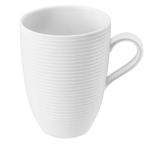 KAFFEEBECHER  - Weiß, Basics, Keramik (11/8,2/10,8cm) - Seltmann Weiden