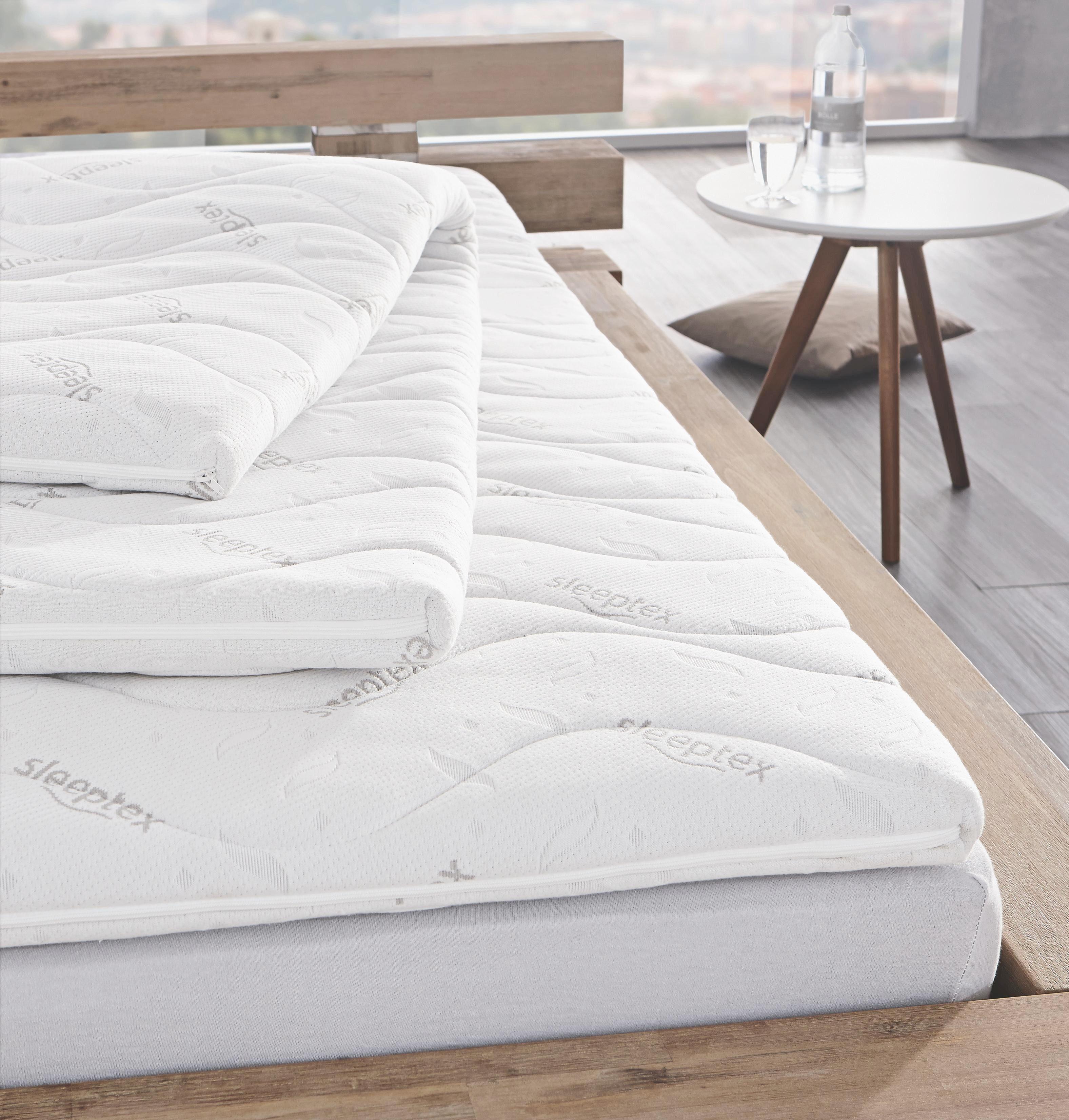 BÄDDMADRASS - Basics, textil (140/200cm) - Sleeptex