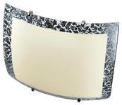 Deckenleuchte Gelia - Silberfarben, ROMANTIK / LANDHAUS, Glas/Metall (25/25cm) - James Wood