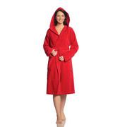 BADEMANTEL Texas  gr XS - Rot, Basics, Textil (XS) - Vossen