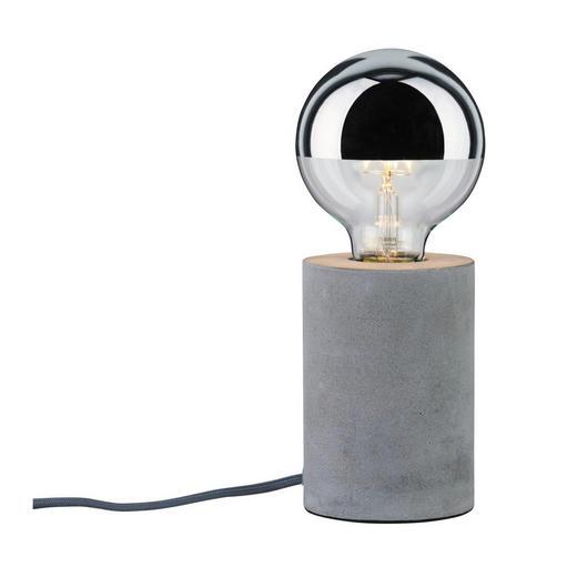 TISCHLEUCHTE - Grau, Design, Stein (22/13cm)